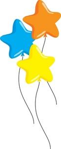 124x300 Free Balloon Clip Art Image
