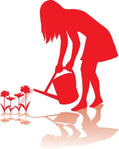 241x300 Gardening Clipart Image