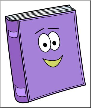 304x359 Clip Art Cute Book 1 Color 2 I Abcteach