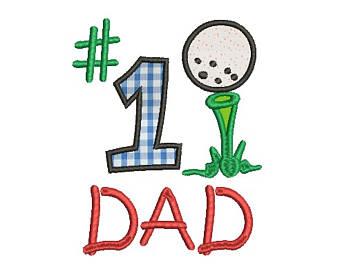 340x270 Number 1 Dad Metal Sign Wall Badge 1 Dad Badge
