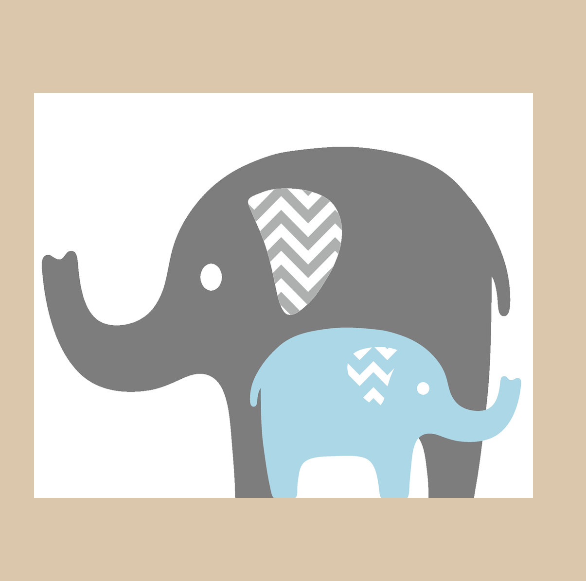 1205x1195 Elephant Mom And Baby Clipart