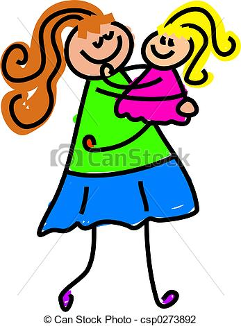 347x470 Mom Picking Up Clipart
