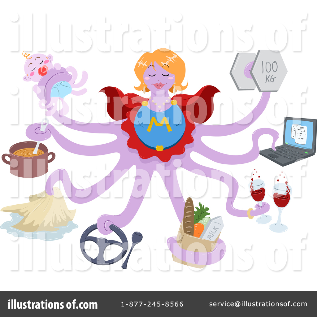 1024x1024 Super Mom Clipart