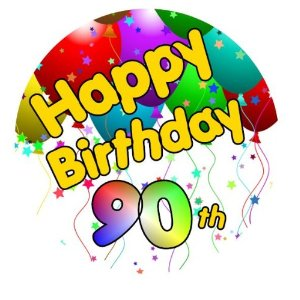 300x300 90th Birthday Mom Clipart