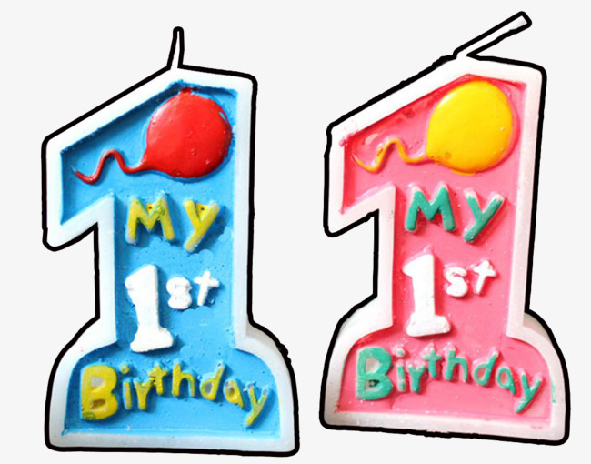 650x510 One Year Old Candle, Cake, Happy Birthday!, 1st Anniversary Png