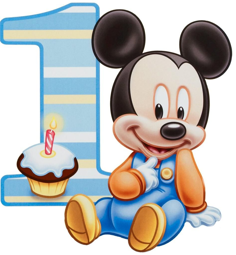 947x1024 Baby Mickey 1 Year Cake Outline And Pipe In Buttercream Cakes