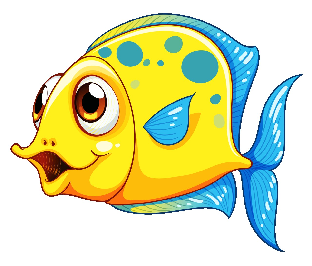 1280x1092 10 Png Fish Clip Art And Cartoon Amazing Yellow Clipart