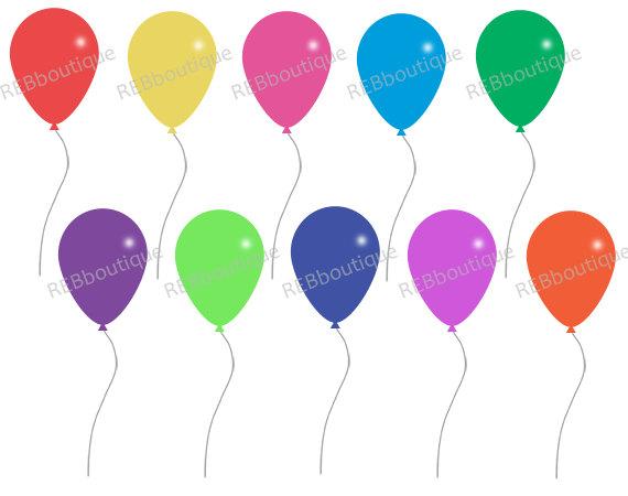 570x450 Balloon Clipart Ten