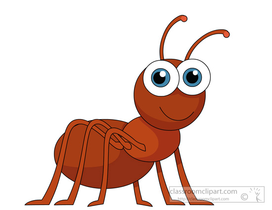 550x425 Ant Clipart Red Bug