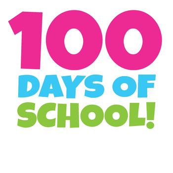 350x350 Free 100 Days Of School Clipart Happy 100th Day Of School Clip Art!