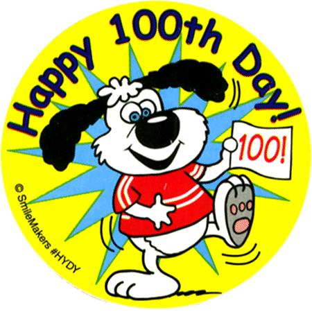 100 Day Clipart