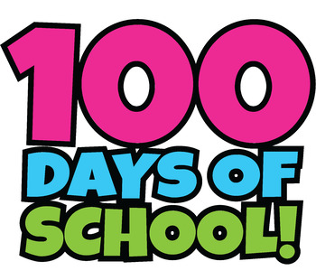 350x310 Free 100 Days Of School Clipart Happy 100th Day Of School Clip Art!