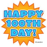 200x200 100th Day Clipart
