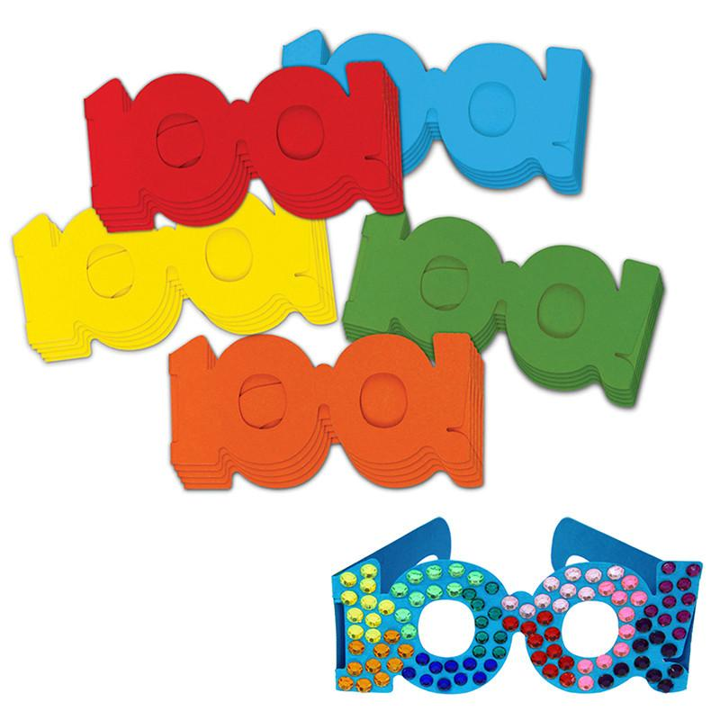 800x800 100 Days Of School Paper Glasses The Education Station Inc