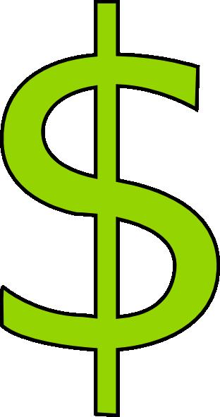 312x591 Clipart Dollar Sign