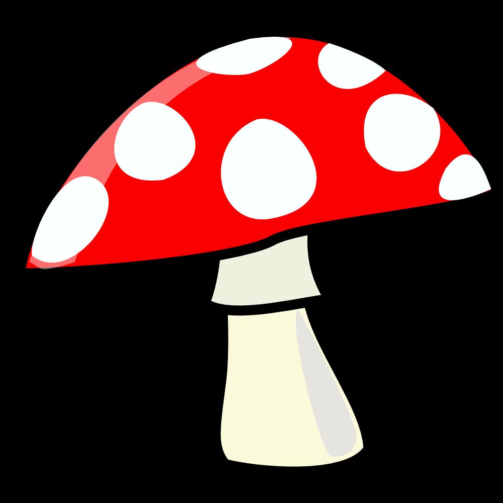 1000x1000 Mushroom. Flag This Clip Art Clipart Panda