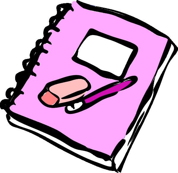 600x583 Notebook Clip Art