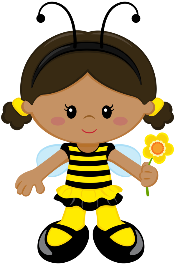 594x900 Bumble Bee Girl Clip Art Images About Bee Honey