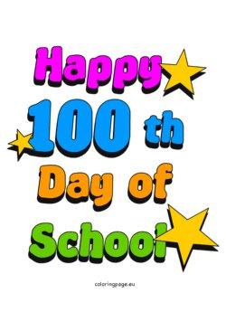 250x345 Happy 100th Day Of School Jefferson Elementary School