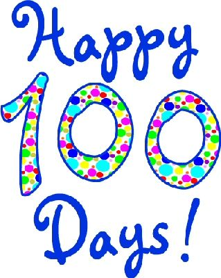319x400 100th Day Of School Clipart Collection