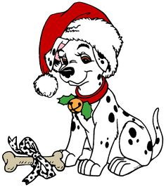 236x266 Non Copyrighted Drawings 101 Dalmatians Christmas Clip Art