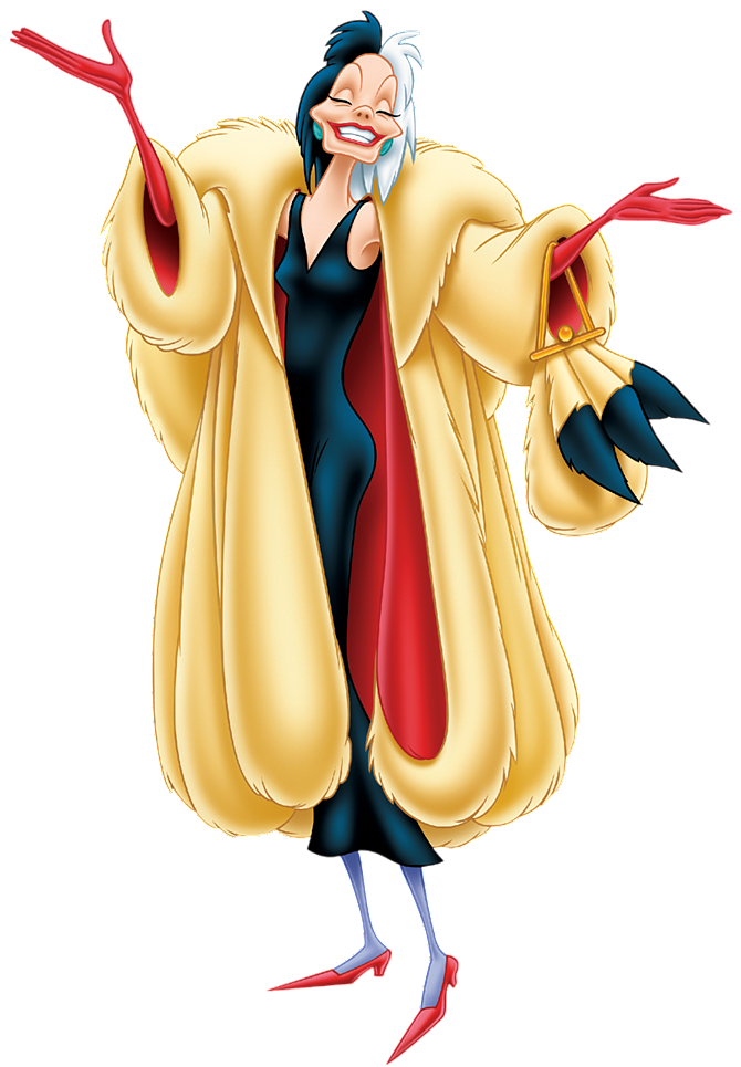 670x965 Cruella De Vil Antagonists Wiki Fandom Powered By Wikia