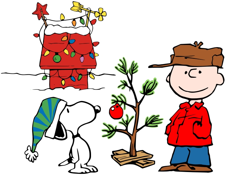 740x575 Clip Art Of Charlie Brown Christmas Tree Clipart Panda Free Mood