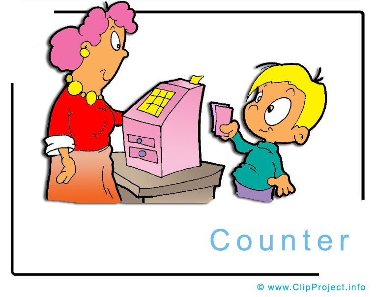 765x604 Counter Clipart Image