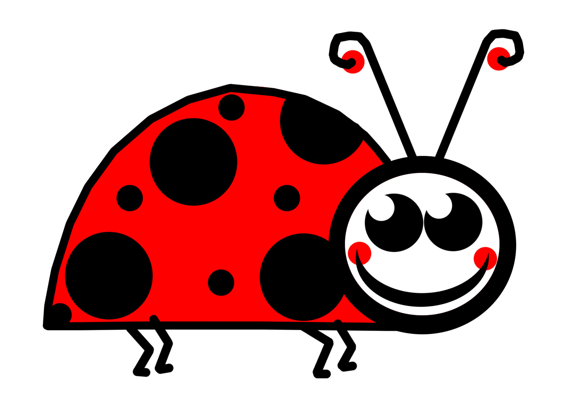 1920x1371 Lady Bug Clip Art Free Stock Photo