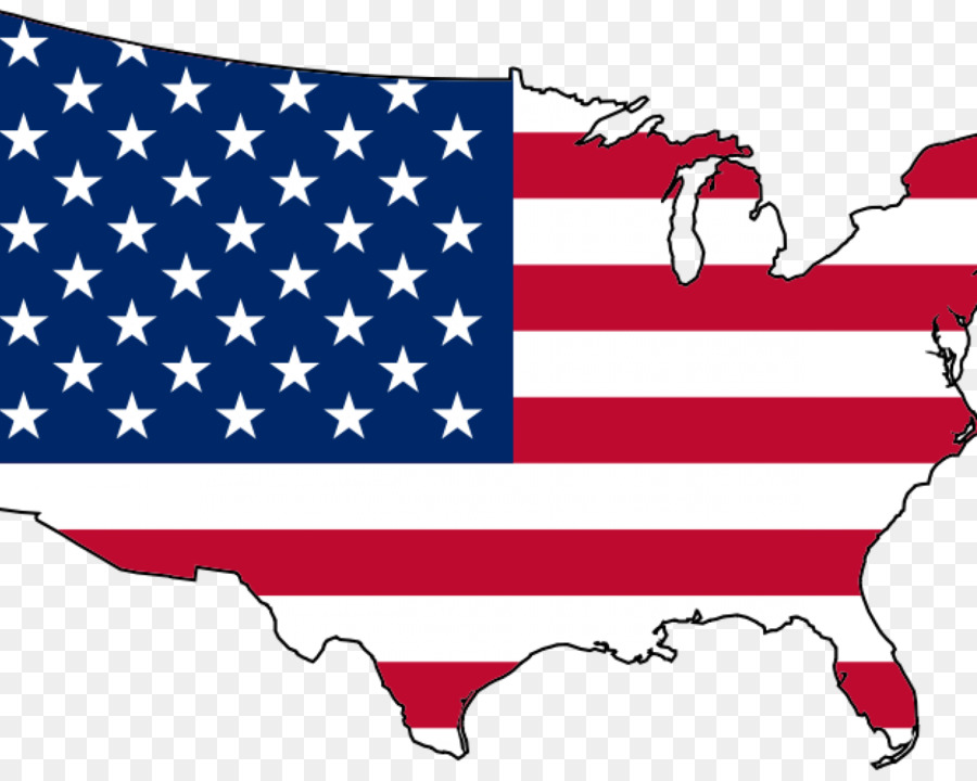 900x720 Flag Of The United States Map Clip Art