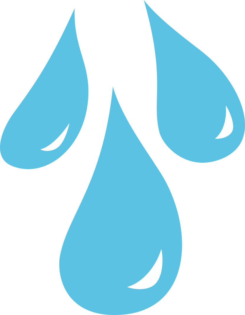 830x1067 Clip Art Raindrop Outline