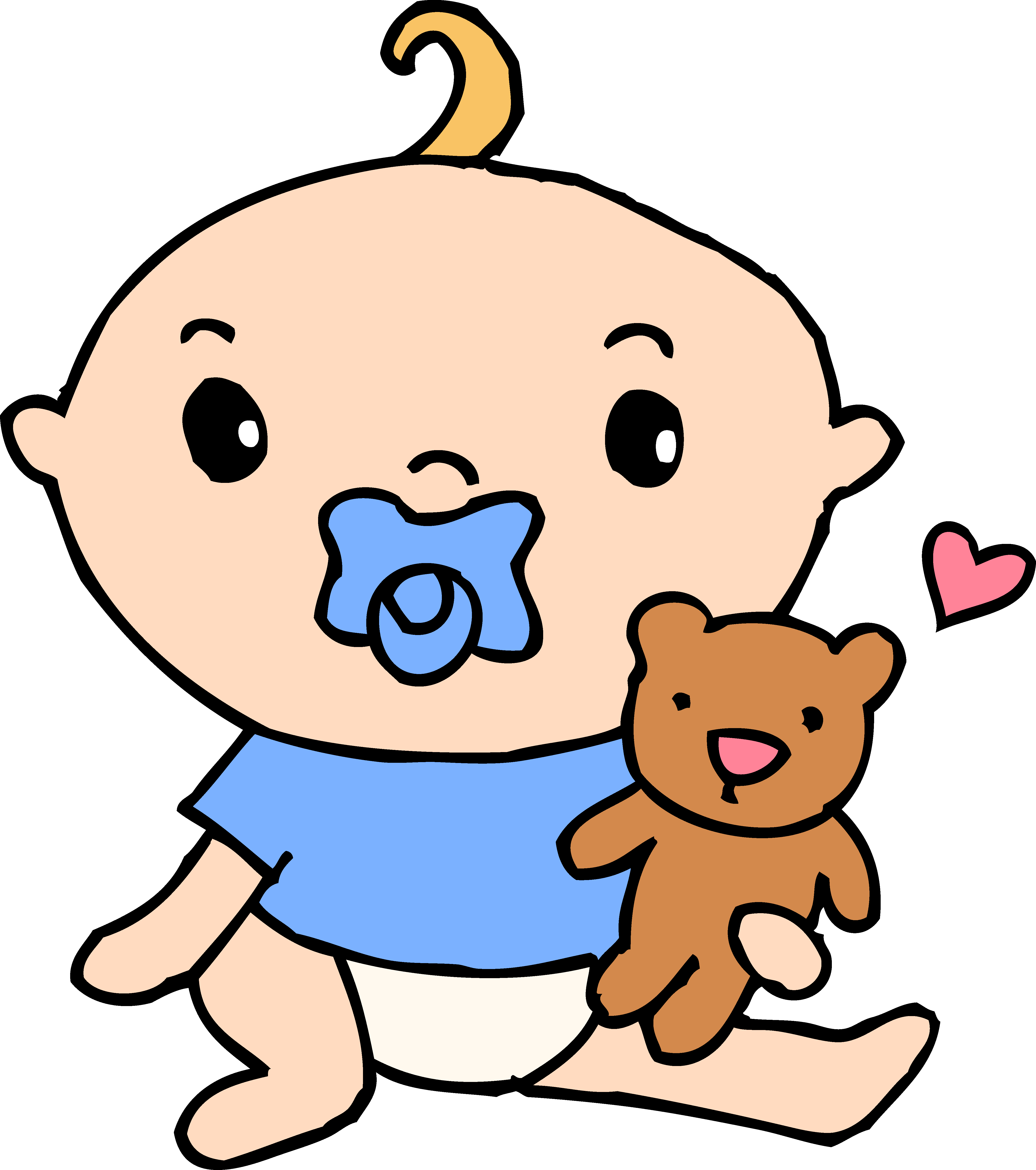 4755x5367 Baby Boy Cartoon Clip Art 101 Clip Art