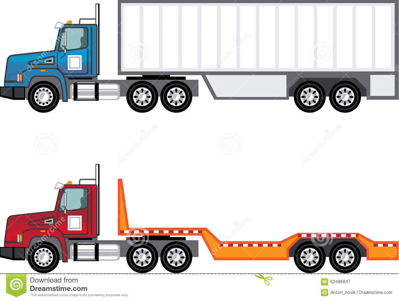 1300x982 Free Semi Truck Clip Art