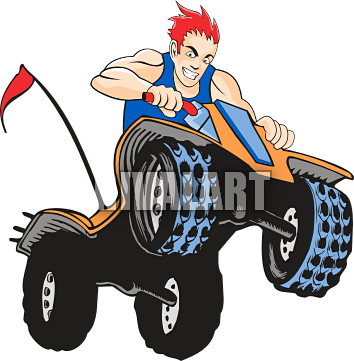 354x361 Poker Run Clipart