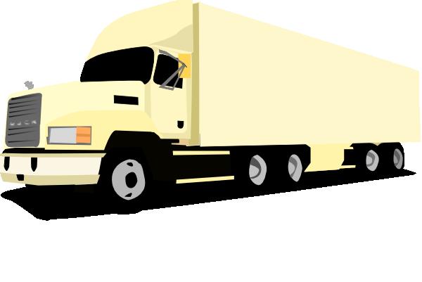 600x401 18 Wheeler Truck Clip Art Free Vector 4vector