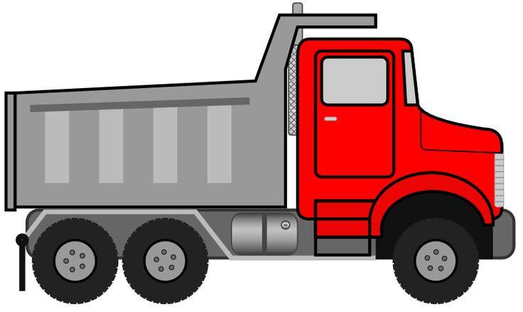 18 Wheeler Truck Clipart