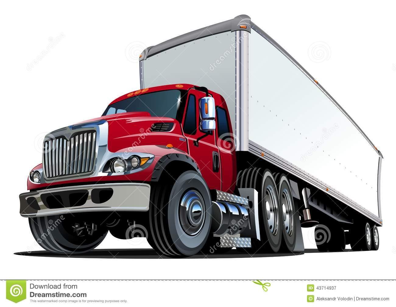 1300x1009 Cartoon Semi Truck Clipart Free Clip Art Download