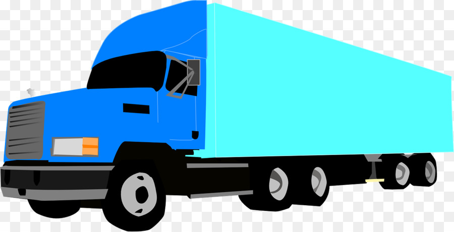 900x460 Semi Trailer Truck 18 Wheeler American Pro Trucker Clip Art