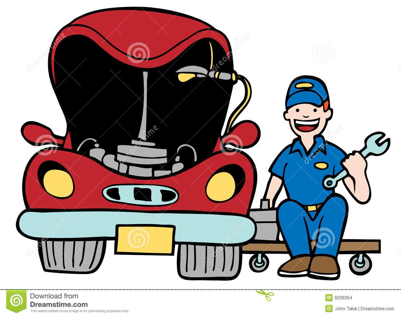 1300x1027 Truck Mechanic Clipart
