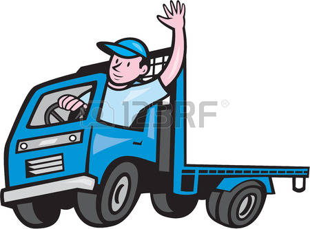 450x333 Collection Of Truck Driver Clipart High Quality, Free