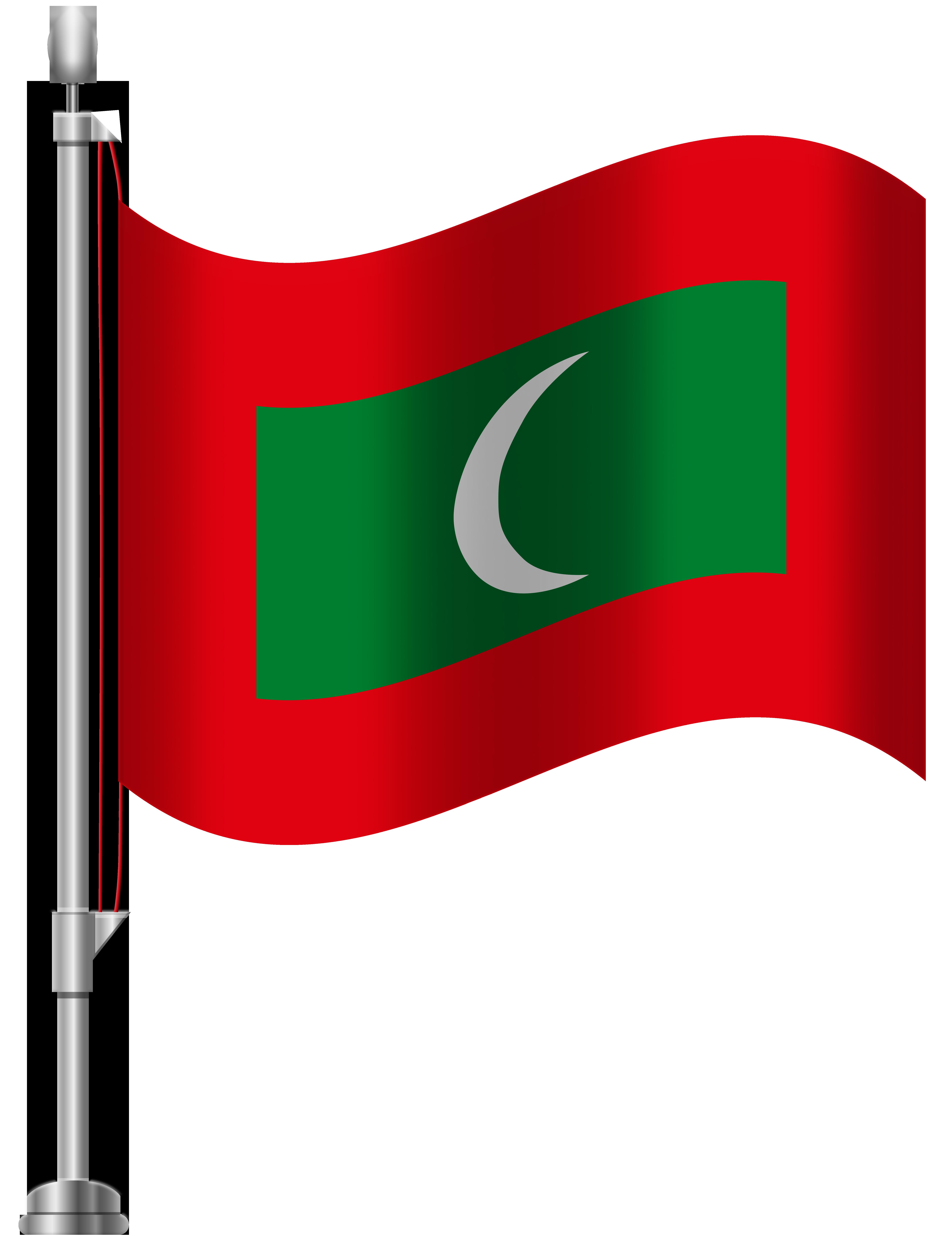 6141x8000 Maldives Flag Png Clip Art