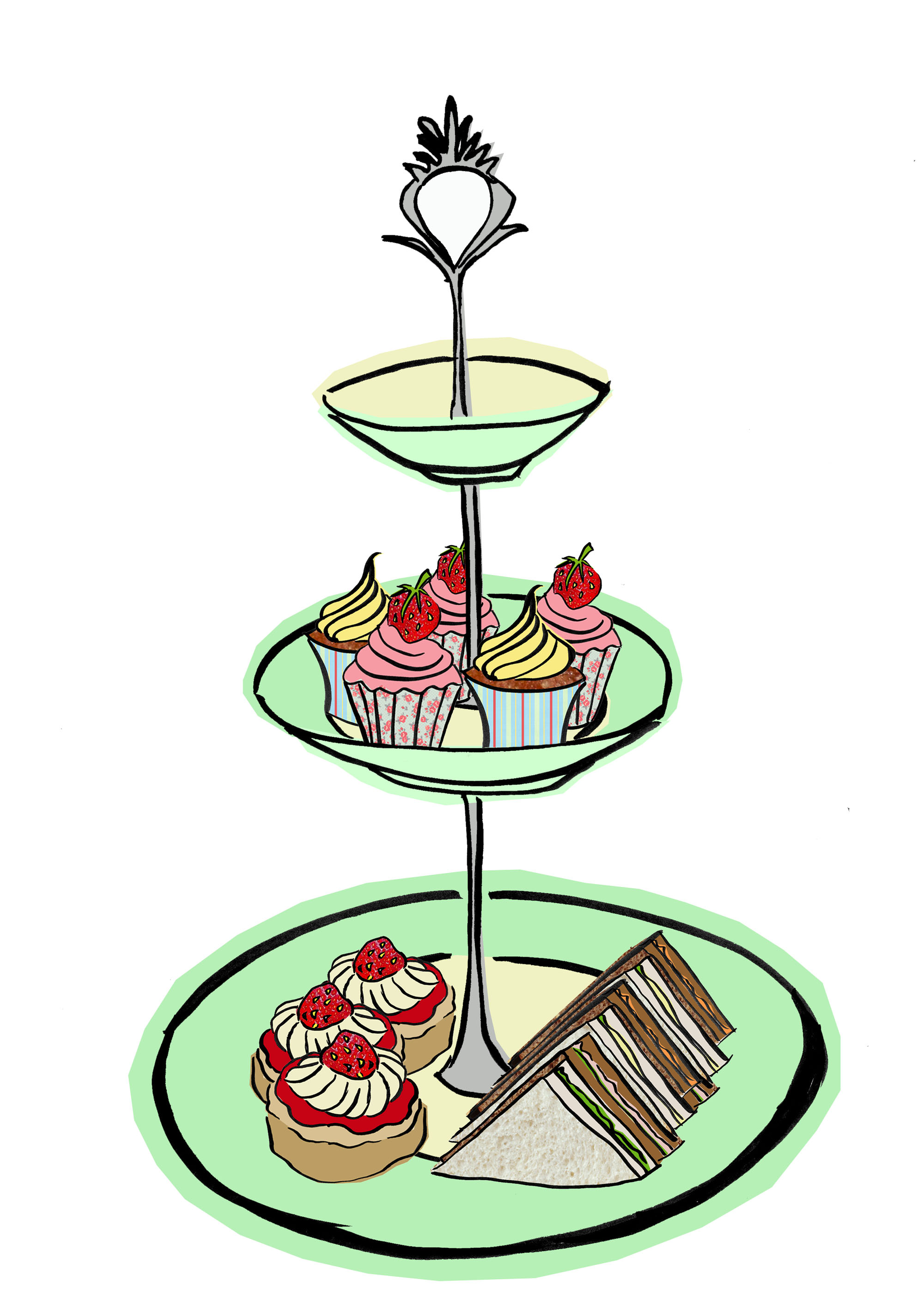 2000x2829 Collection Of Afternoon Tea Clipart High Quality, Free