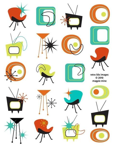 474x612 1950 Kitchen Clip Art