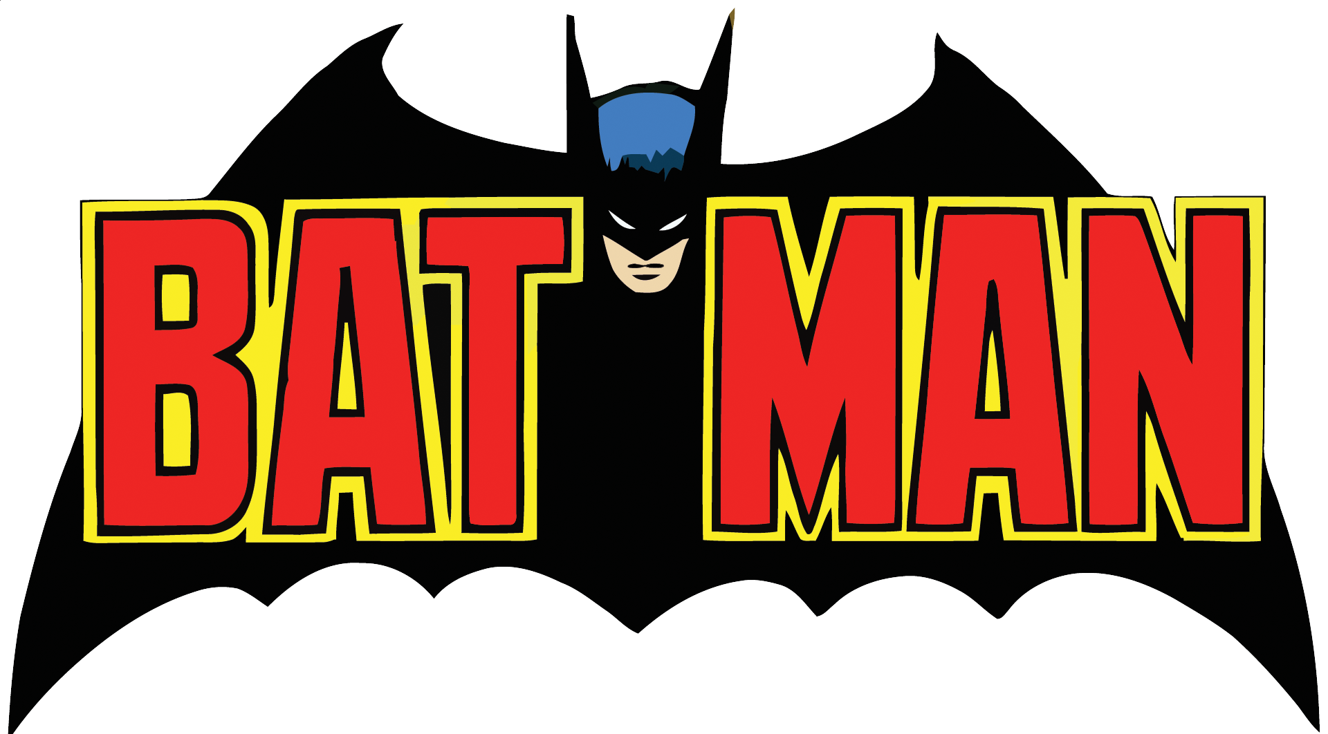 1920x1062 Batman Clipart Vector