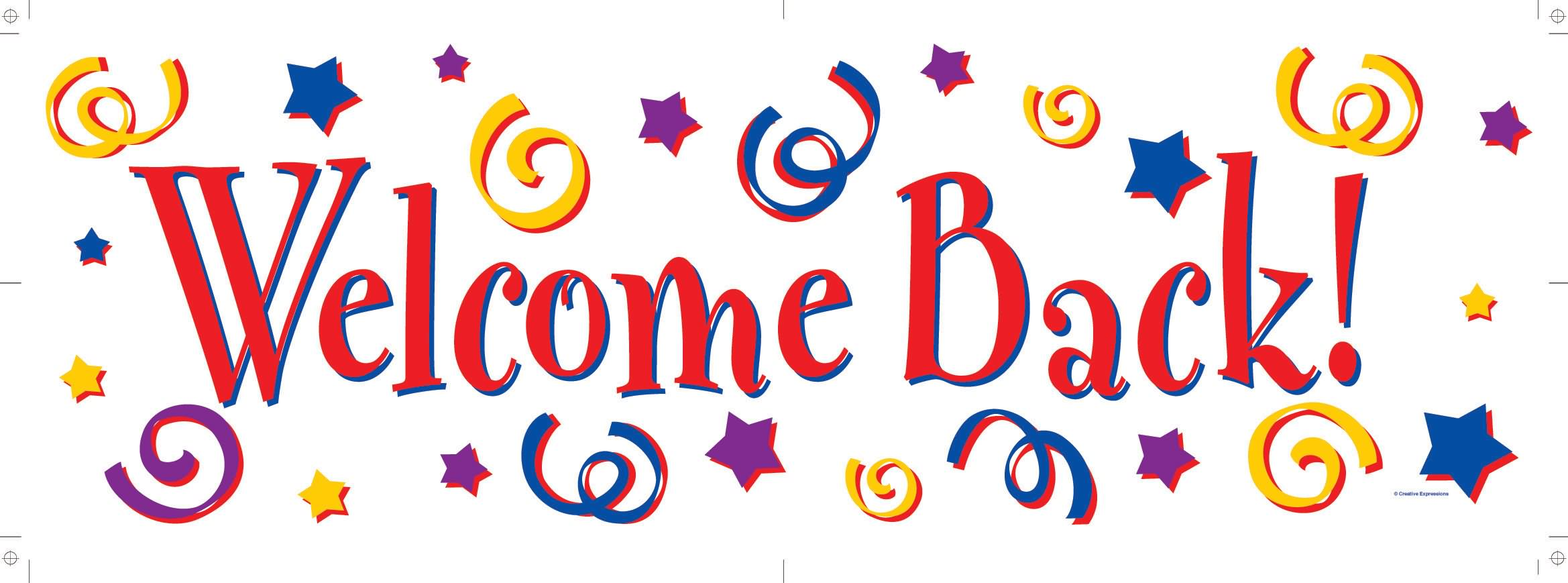 2338x869 Welcome Back To School Clip Art Amp Look At Welcome Back To School