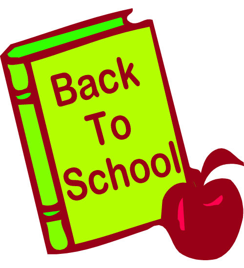 500x550 Welcome Back To School Clipart