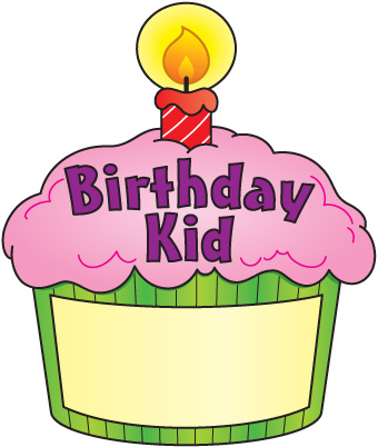 340x402 Birthday Cupcake Clipart Clipartlook