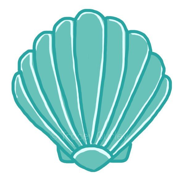 600x600 Seashell Clip Art Sea Shells Clip Art Seashells 2 Image 3 Ref