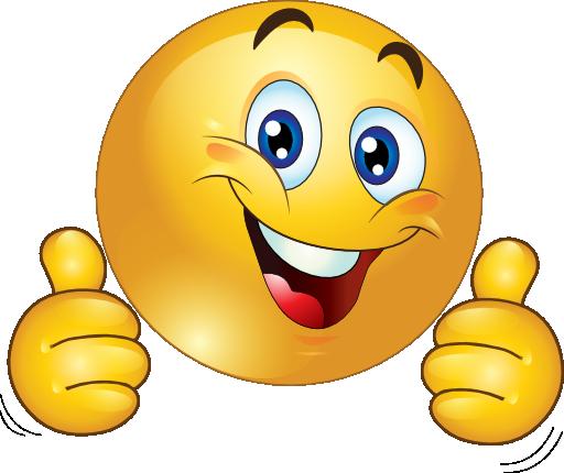 512x430 Smiley Face Clip Art Thumbs Up Free Clipart Images 2 Akhil Viz