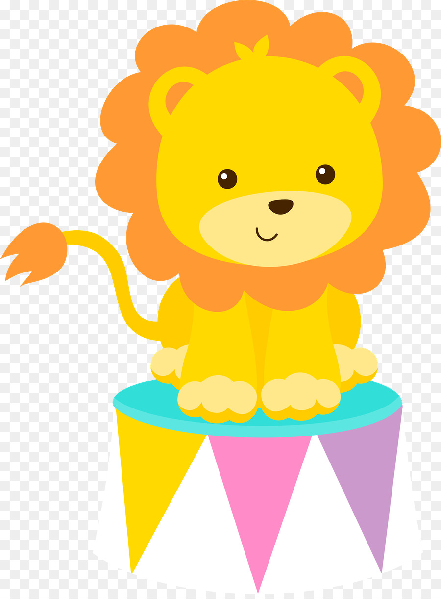 900x1220 Baby Lions Circus Drawing Clip Art
